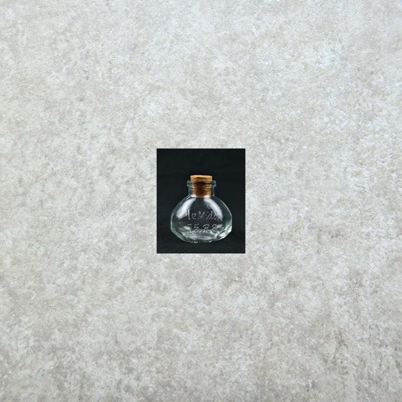 Fairy Garden Miniature Mini Oval Bottle with Cork Tiny Bottle  #51093MDI Container Vial Storage Bottle Tiny Jar Decorative Bottle