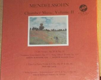 Aaron Brock Toccata Mendelssohn Chamber Music Volu