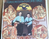 Monroe Brothers Feast Here Tonight Sealed Vinyl Folk 2 Record Set