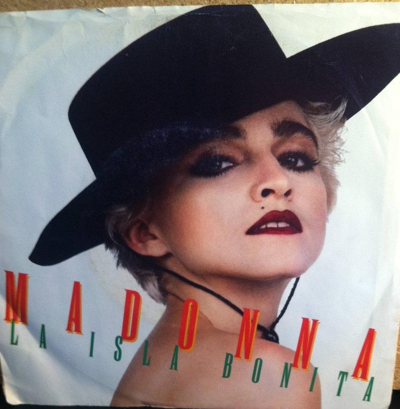 Madonna La Isla Bonita Vinyl Pop 45 rpm Record
