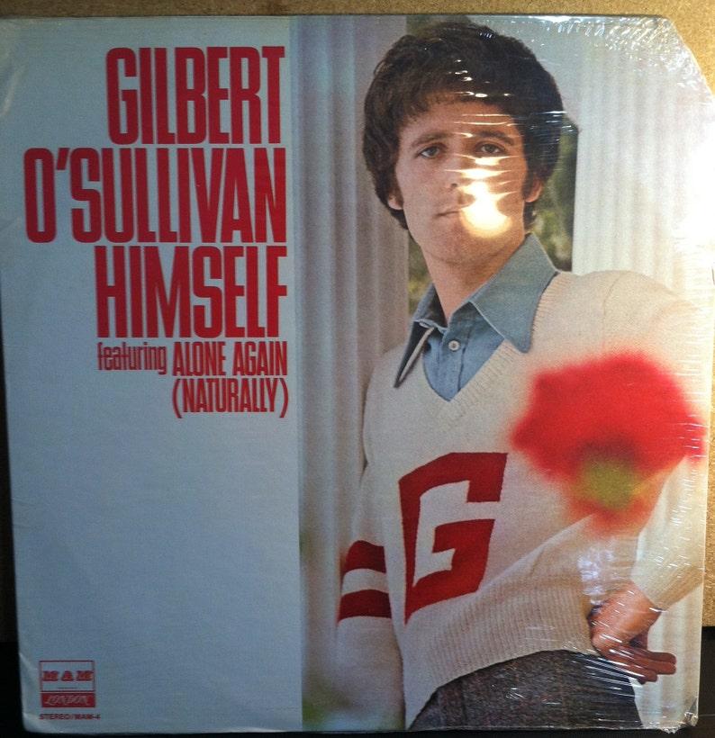Gilbert O'Sullivan Himself Alone Again Sealed Vinyl Pop Rock Record Album