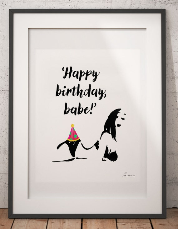 For her sexy birthday card