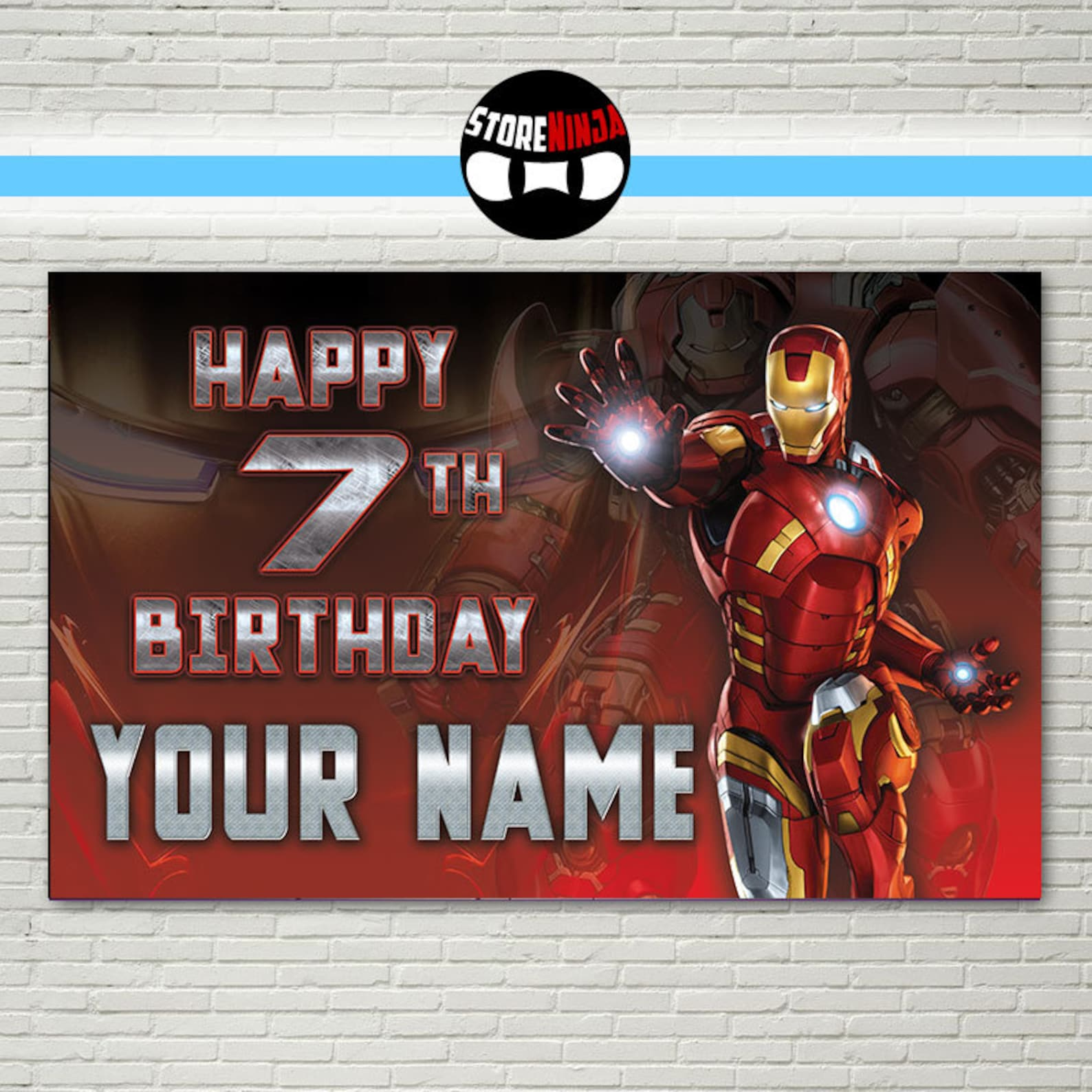 Iron Man Backdrops