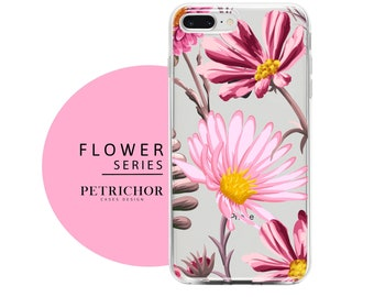 f97a3c38ed19 Floral iPhone Case - iPhone 7 Case - iPhone 7 Plus Case - iPhone 6 Case -  iPhone 8 Case - iPhone X Case - iPhone 8 Plus Case - Clear