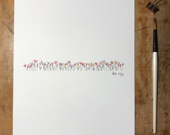 A4 Meadow Print | Limited edition | hand signed