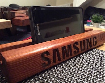 Samsung wooden stand for mobile