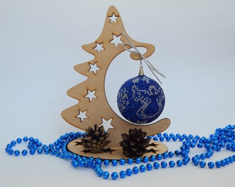 Christmas ornaments handmade Christmas baubles Beaded ball Christmas tree balls Christmas tree decor Gift Ideas Christmas ornaments ball