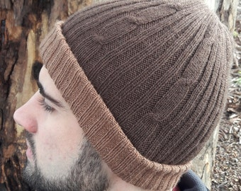 Adult Double sided Alpaca Beanies