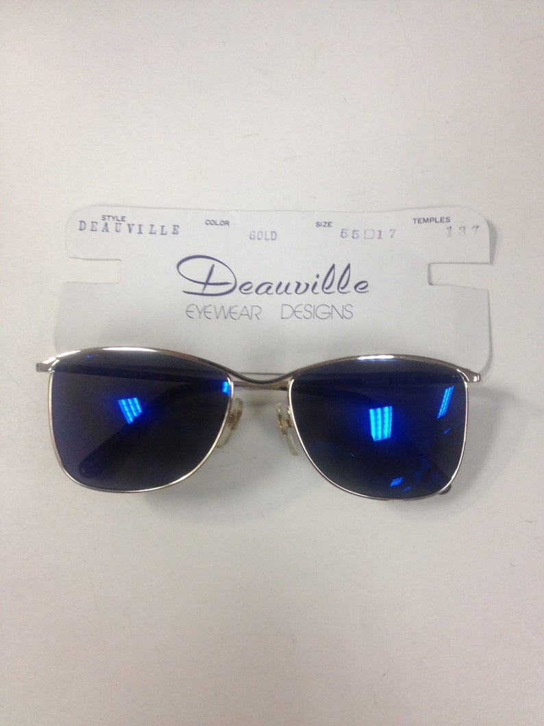 Deauville Zeiss Sunglasses, Vintage Eyewear, New Old Stock