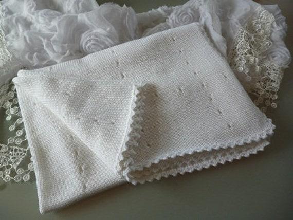 Babydecke Strickdecke Decke gestrickt Schmusedecke | Etsy