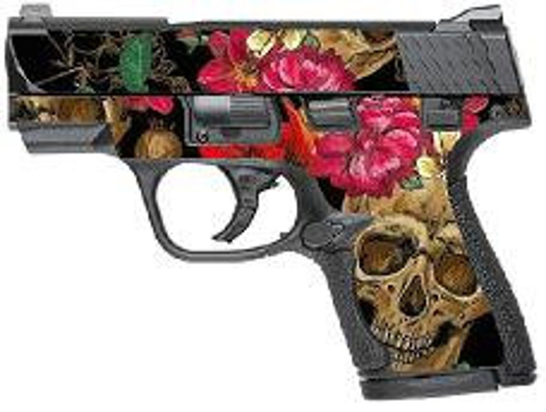 Custom Gun Wrap for Smith and Wesson M&P Shield 9mm and 40
