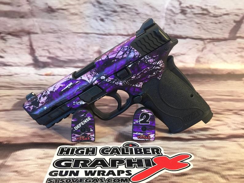 Custom Gun Wrap for the Smith & Wesson MP 380 SHIELD EZ M2 0