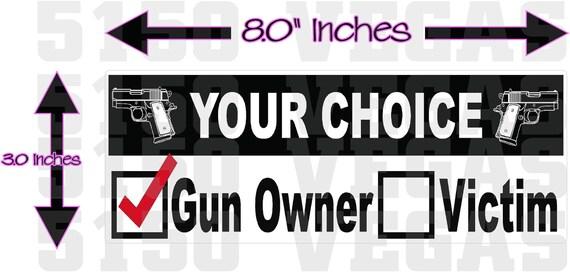2x Black USA Gun Permit 2nd Amendment Cell Phone Sticker Mobile 2a gun rights