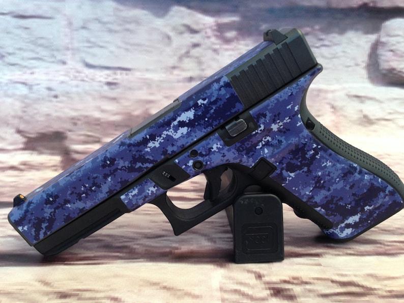 Custom Gun Wrap for Glock 17 Gen 4