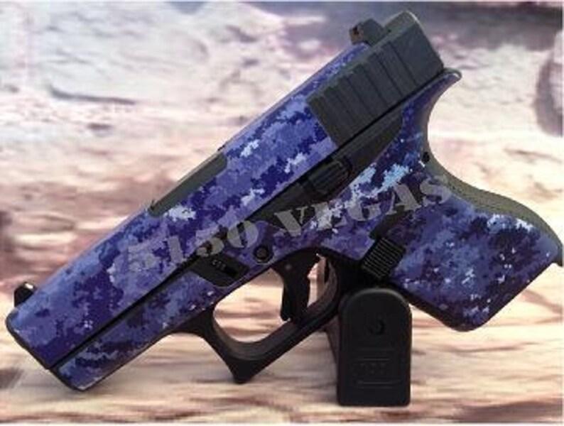 Custom Cut Gun Wrap for Glock 42