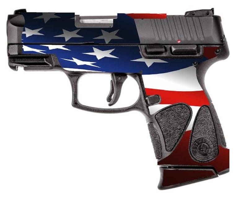 Custom Gun Wrap for Taurus PT111 Millennium G2 (G2c and G2s compatible) 9mm  Polymer Grip Sub Compact