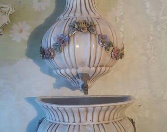 Porcelain basin