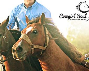 """Rodeo """"Wild One"""" Fine Art Print, Wild Horse Art, Rodeo Fine Art, Western Fine Art, Cowboy, Cowgirl Fine Art, Canvas, Home Decor, Wall Art"""