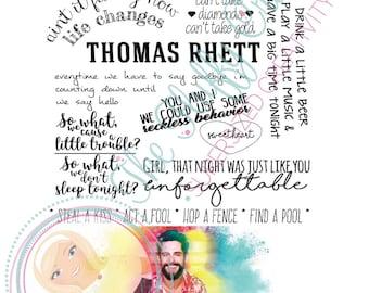 Thomas rhett | Etsy