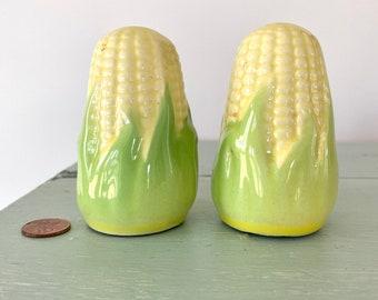 Beautiful corn salt and pepper shakers