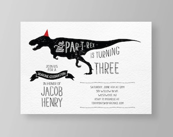 girl dinosaur birthday invitation template cool surfer dino etsy