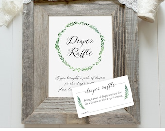 blue and gray elephant baby shower diaper raffle ticket sign etsy