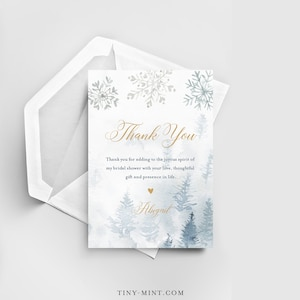 EDITABLE Thank You Note Printable Teen Birthday Thank You Note /'Nuff Said Flat Thank You Card digital file INSTANT DOWNLOAD