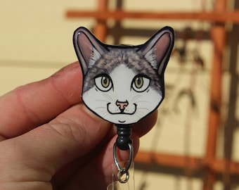 Cats against cat calls keychain or necklace or retractable ID badge clip Free shipping Gift