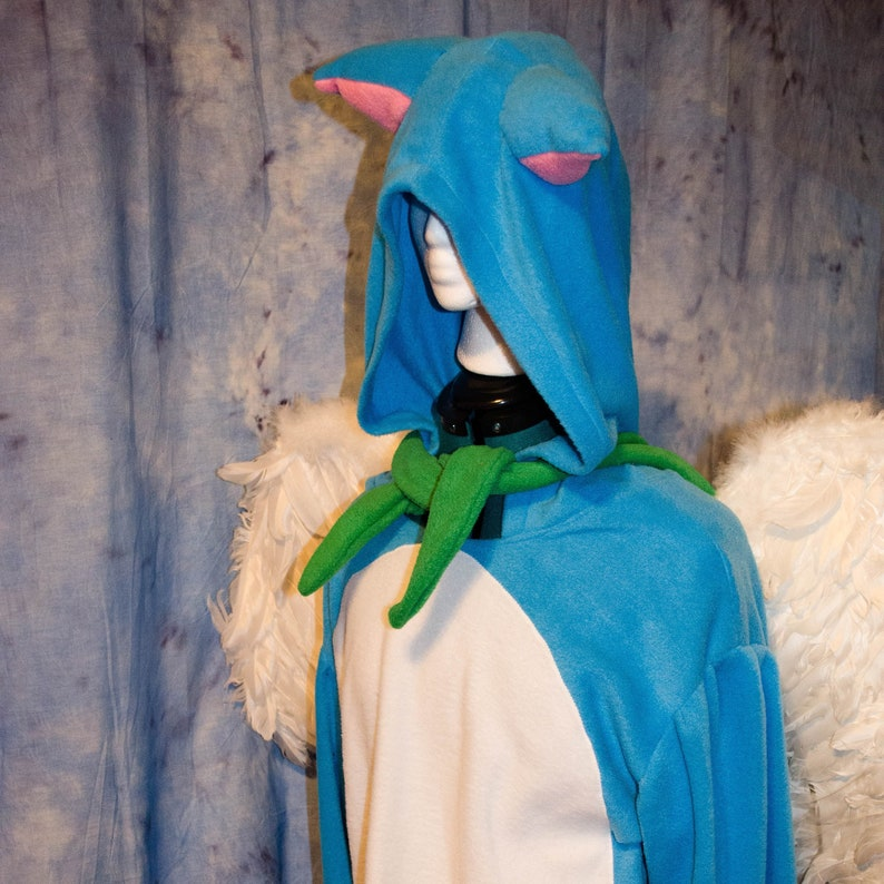 38579a4a89b2 Fairy Tail Happy Cosplay Costume Adult Unisex Kigurumi w