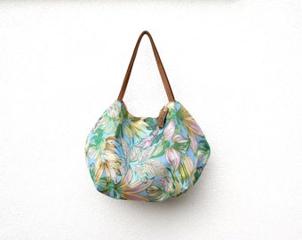 Big blue bag reversible rose