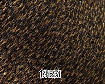 CELEBRATING 6 YEARS DG-Hq™ Micro Mini Braids #Bh231 Tricolor Black Brown Gold 2Mm Doll Hair Reroot Barbie™ Monster High™ Integrity Rainbow H