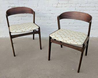 Mid Century Modern Dux Ribbon Back Chairs