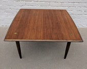 Mid Century Modern Dux Teak Coffee Table