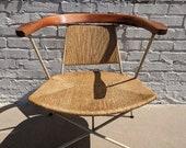 Mid Century Modern Arthur Umanoff Rope Chair