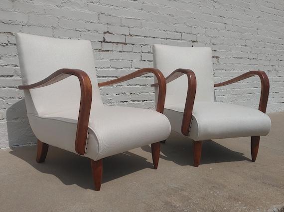 Mid Century Italian Modern Lounge Chairs