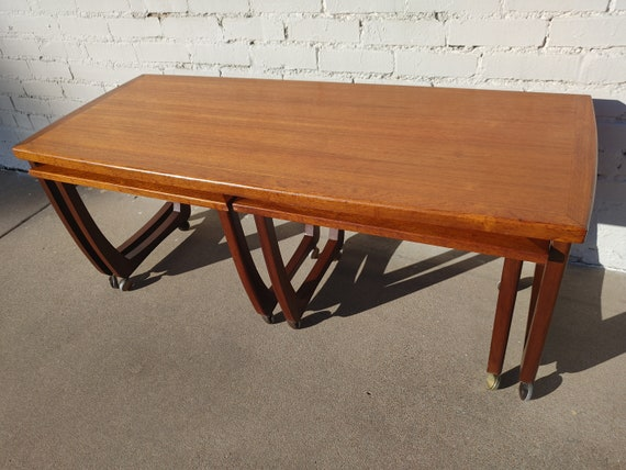 Mid Century Modern Danish Inspired Nesting Tables