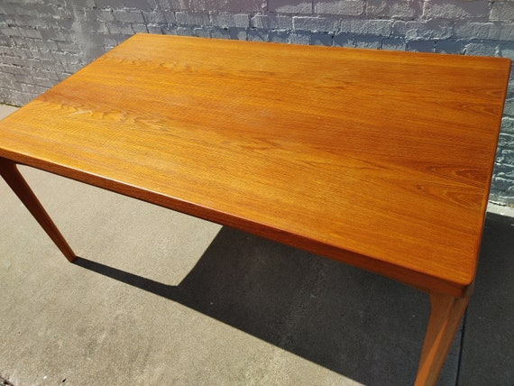 Mid Century Modern Velje Stole Teak Extendable Dining Table