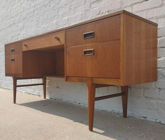 Mid Century Modern Danish Modern Teak Desk