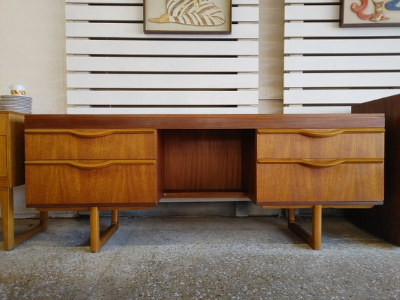 Mid Century Modern Danish Inspired Desk/Vanity