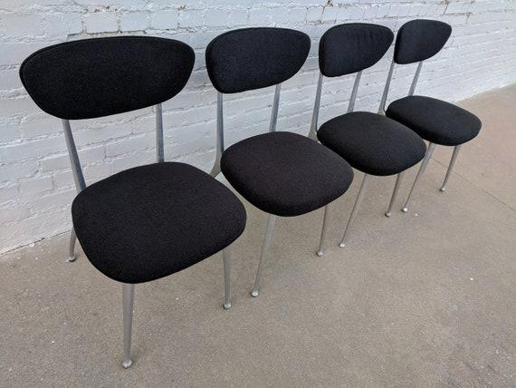 Mid Century Modern Shelby Williams Gazelle Chair Set of Four