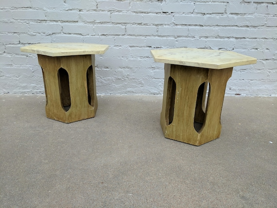 Mid Century Modern Harvey Probber Side Tables