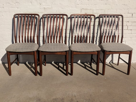 Mid Century Modern Moreddi Danish Modern Chairs