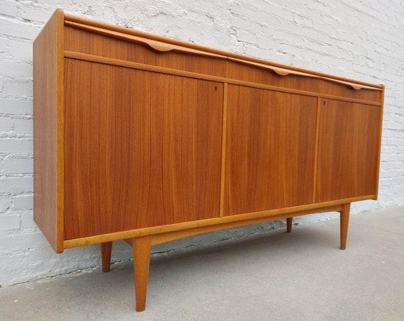 Mid Century Modern Danish Teak Sideboard