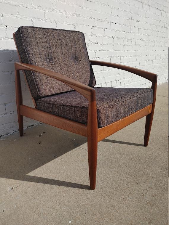 Mid Century Modern Kai Kristiansen Paper Knife Chair