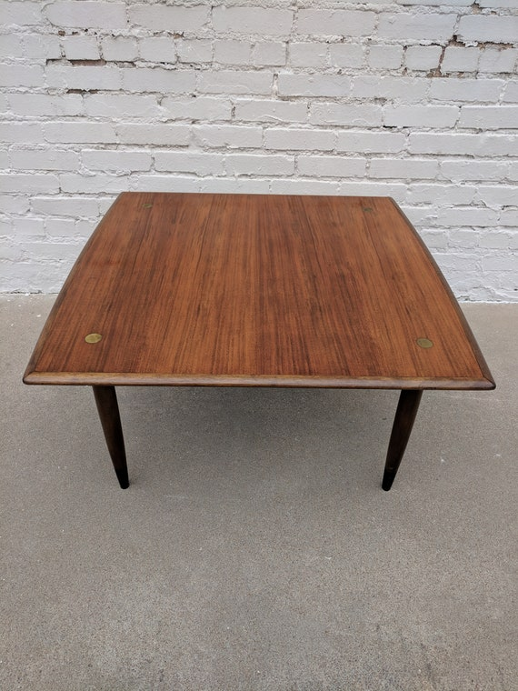 Mid Century Modern Dux Teak Coffee Table