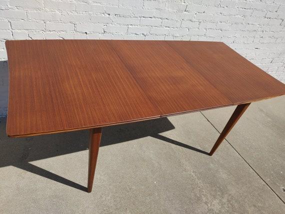 Mid Century Modern Danish Inspired Teak Dining Table