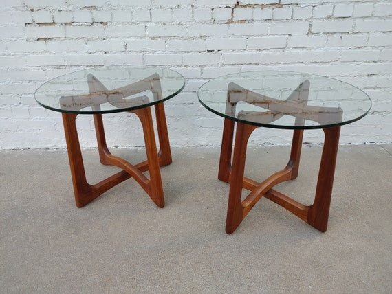 Mid Century Modern Adrian Pearsall Sculptural Side Tables