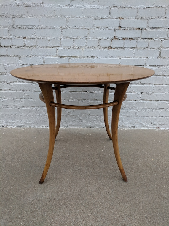 Mid Century Modern Widdicomb Sabre Leg Side Table