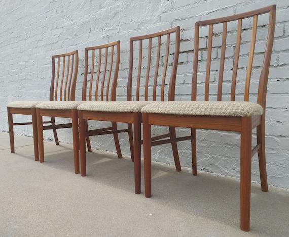 Mid Century Modern McIntosh Teak Dining Chairs