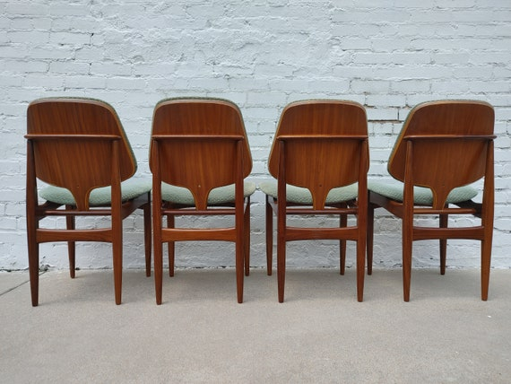 Mid Century Modern Sculptural Dining Chairs